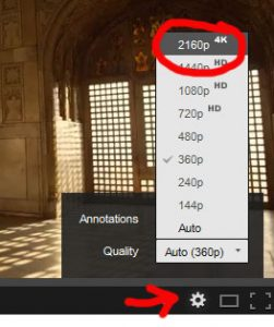 4k Ultra HD how to