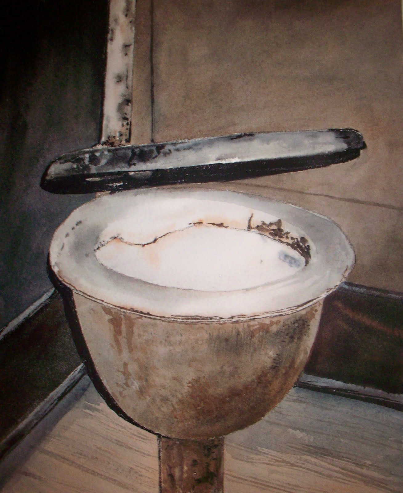 Two hundred years later Alexander Cummings reinvented the flush toilet more commonly called the water closet.