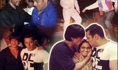 The most Striking Snaps of Besties Salman Khan and Shah Rukh Khan