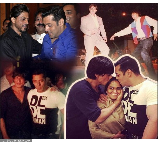 The most Striking Snaps of Besties Salman Khan and Shah Rukh Khan