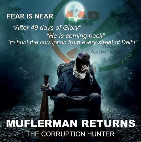 These are Some Tweets Honoring Mufflerman – Arvind Kejriwal's coming back to Politics