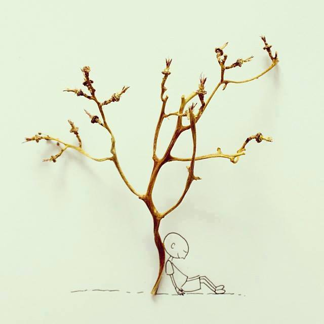 Creative Illustrations Made From Daily Objects